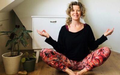 Een interview over mijn eerste online yogalessen.